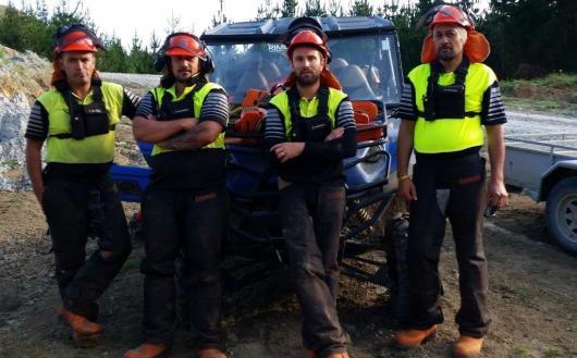 Rimurapa Silviculture Crew