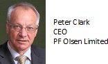 Peter Clark, CEO, PF Olsen Ltd